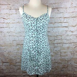 H&M Mint Floral Dress